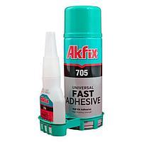 Универсальный двухкомпонентный клей Akfix 705 200 мл
