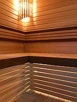 Реконструкция русской бани с дровяной печью. Размер = 2,5 х 1,7 х 2,1 м. Адрес: г. Алматы, Калкаман, мкр-н Шугыла, ул. Сыгай. 7
