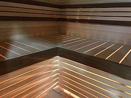 Реконструкция русской бани с дровяной печью. Размер = 2,5 х 1,7 х 2,1 м. Адрес: г. Алматы, Калкаман, мкр-н Шугыла, ул. Сыгай. 13