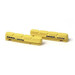 Sram  тормоз колодки сarbon  обода  Road Yellow Qty 2