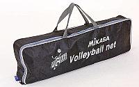 Сетка для волейбола MIKASA (PE, с метал. тросом)