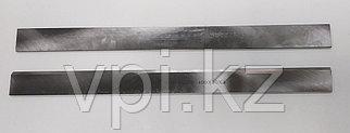 Нож на фуговально-рейсмусовый станок, быстрорежущая сталь -HSS, 300*25*3мм