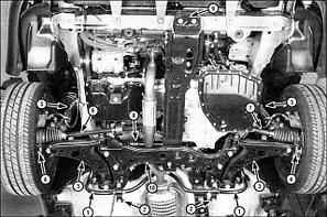 НАВЕСНОЕ ОБОРУДОВАНИЕ И ХОДОВАЯ (Тойота) 4RUNNER 215 2002-2009