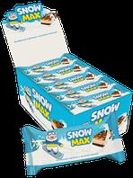 """Бисквитное пирожное """"Snow Max"""" с молочной начинкой"""