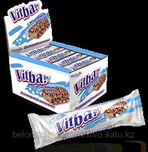 """Ваф. батончик """"Vitba.by"""" с воздушным рисом в молочной глазури"""