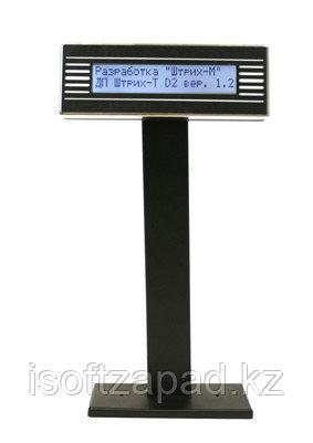 Дисплей покупателя ШТРИХ-T D2-USB-MB(чёрный)(USB), фото 2