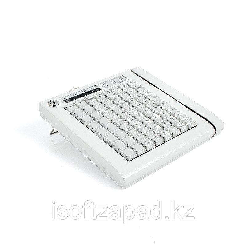 Программируемая клавиатура KB-64R ШТРИХ-М, 64 клавиши, с ридером магнитных карт, бежевая