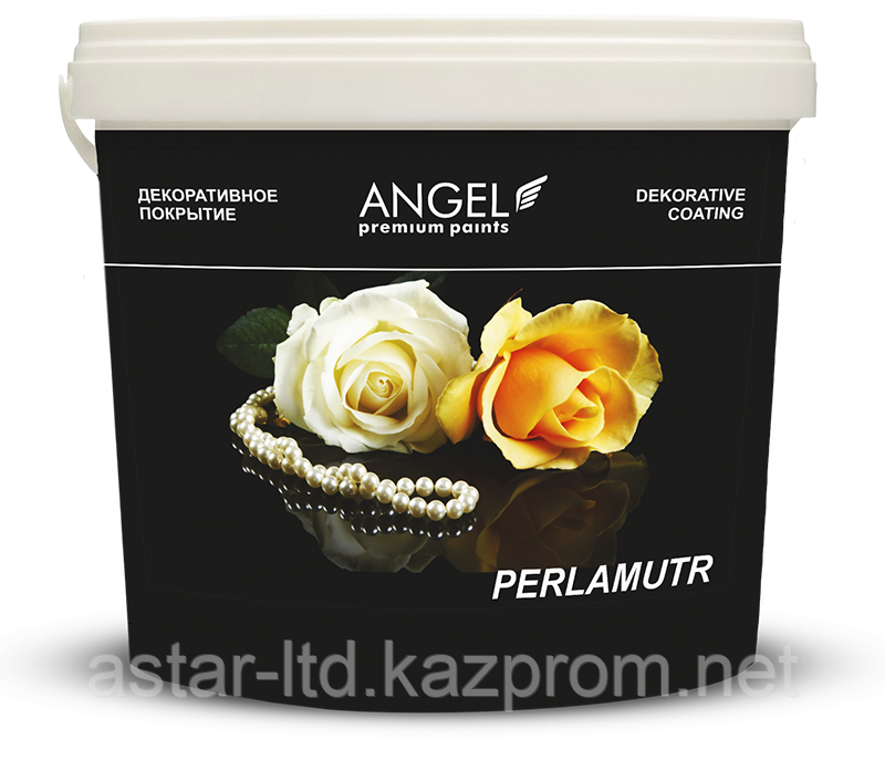 """Декоративная перламутровая краска """"ANGEL PERLAMUTR"""" 2,5 кг"""