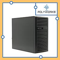 Сервер Supermicro CSE-733T-500/X11SSl-F/E3-1220v6/2x1TB SATA/500W PS