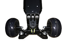 Самокат 3-х колесный складной Scooter-X (Черный) доставка, фото 3