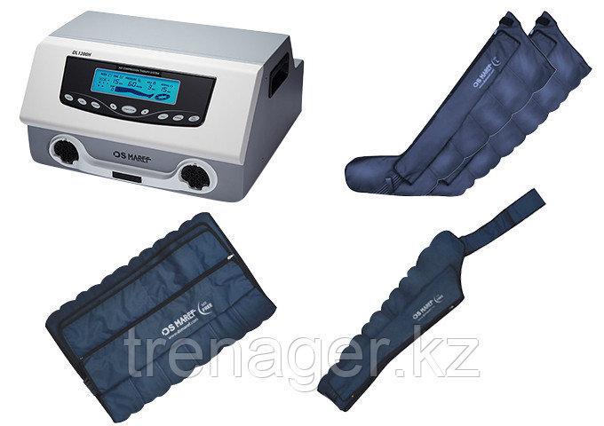Профессиональный аппарат для прессотерапии (лимфодренажа) Doctor Life Lympha-Tron (DL 1200 L, раздельная комп)