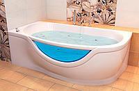 Установка акриловой ванны, и подключение к ней смесителя и сифона