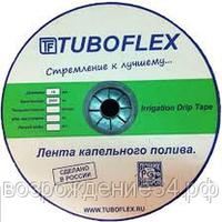 Капельная лента TuboFlex nano 16мм.  8 mils  шаг 20 см 1 л.ч  2000м  рулон, фото 1