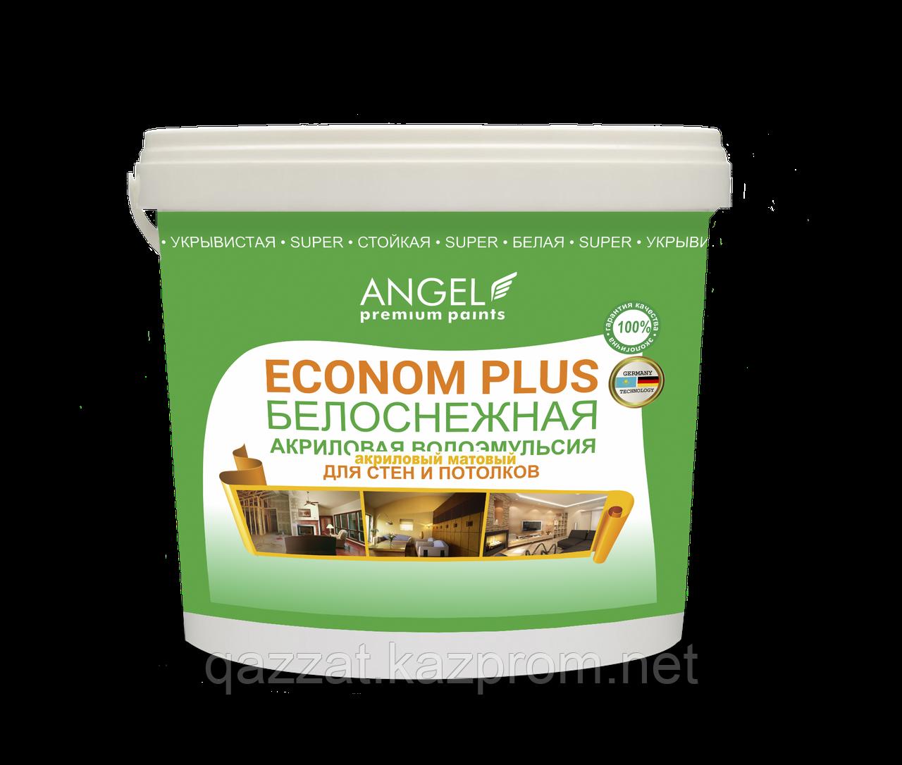 """Водоэмульсионная краска """"Angel"""" Econom Plus 22 кг"""