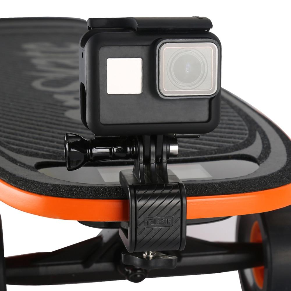 Крепление на скейт борд для экшн-камер TELESIN