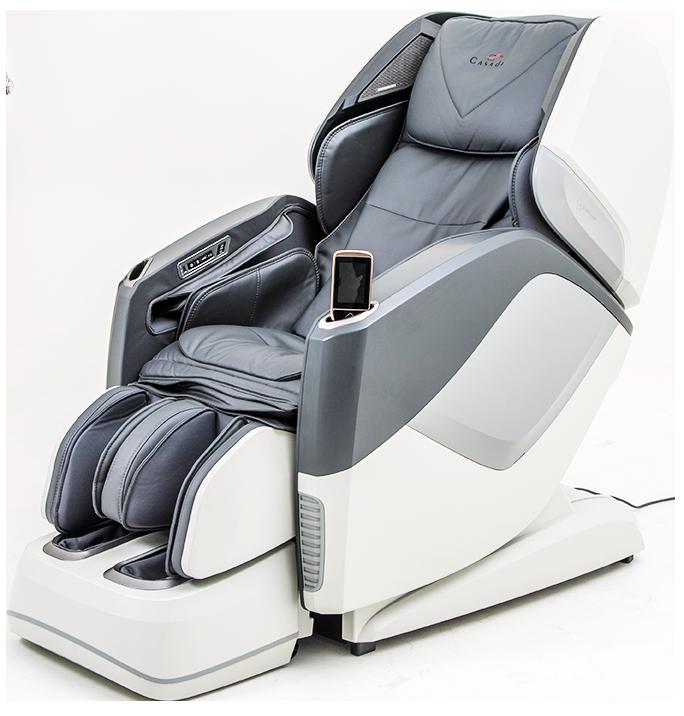 Массажное кресло Casada Aura Grey White