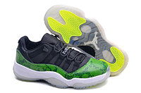 Кроссовки Nike Air Jordan 11 (XI) Retro Low Snakeskin (36-47), фото 1