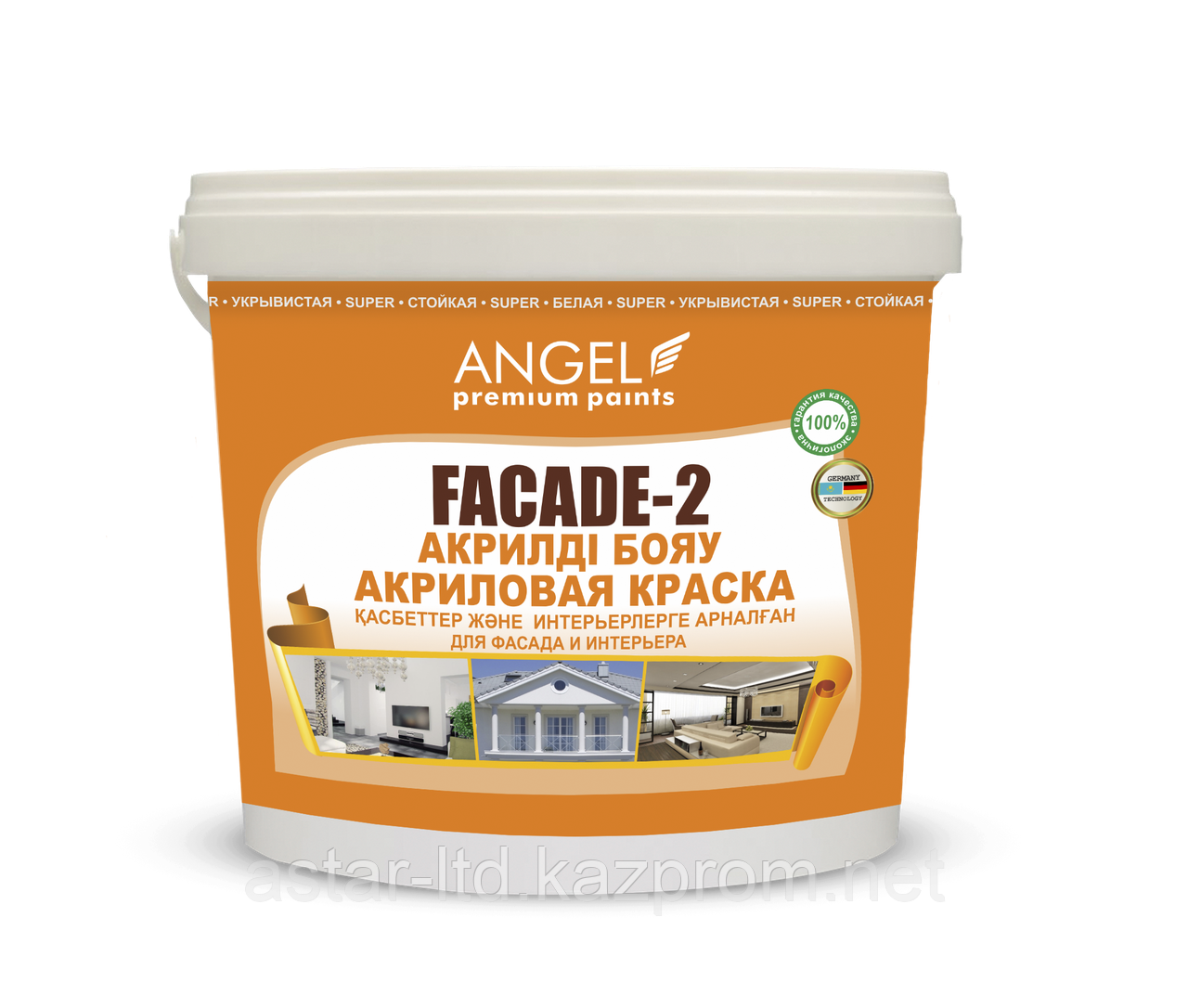 """Водоэмульсионная краска """"Angel Fasade-2"""" 25 кг"""