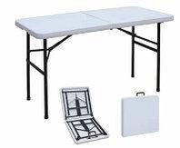 Раскладной стол чемодан для пикника 150 см