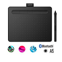 Графический планшет Wacom Intuos Medium Bluetooth, CTL-6100WLK-N, Чёрный