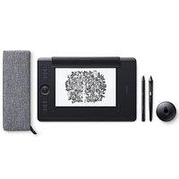 Графический планшет Wacom Intuos Pro Medium R/N, PTH-660, Чёрный, фото 1