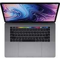 15-inch MacBook Pro with Touch Bar: 2.2GHz 6-core 8th-generation IntelCorei7 processor, 256GB - Space Grey, Model A1990