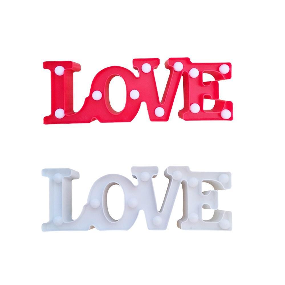 Светильник Love (на батарейках)
