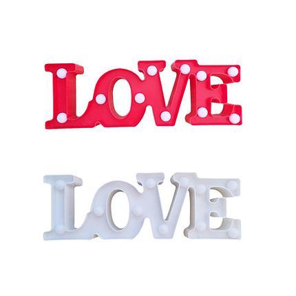Светильник Love (на батарейках), фото 2