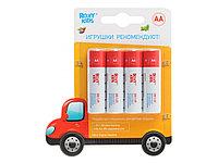 Элементы питания ROXY-KIDS, AA  4 шт. Машинка. Ultra Digital Premium