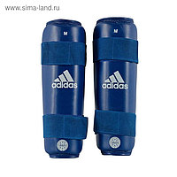 Защита голени WAKO Kickboxing Shin Guards размер L, цвет синий