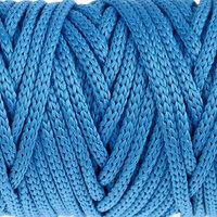 Шнур для рукоделия полиэфирный 'Софтино' 4 мм, 50м/110гр (синий) (комплект из 2 шт.)