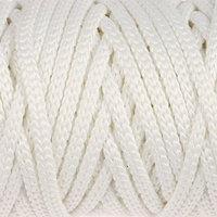 Шнур для рукоделия полиэфирный 'Софтино' 4 мм, 50м/110гр (белый) (комплект из 2 шт.)