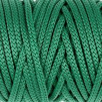 Шнур для рукоделия полиэфирный 'Софтино' 4 мм, 50м/110гр (зелёный) (комплект из 2 шт.)