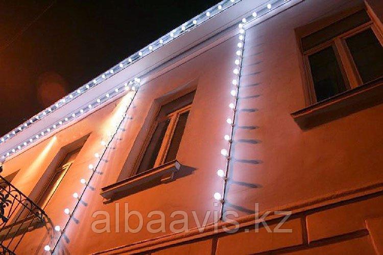 Светодиодный led belt light на стену, гирлянда белт лайт настенная, ретро гирлянда, гирлянда для кафе