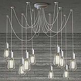 LED лампы Эдисона 8 ватт,  лампы ретро-стиля, ретро лампы, винтажные лампы, старинные лампы, фото 4