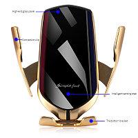 Беспроводная зарядка в автомобиль smart sensor R1, фото 1