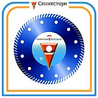 Отрезной алмазный круг Turbo по бетону-125, серия Standart