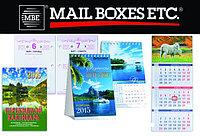 Печать календарей, на заказ, дизайн и верстка
