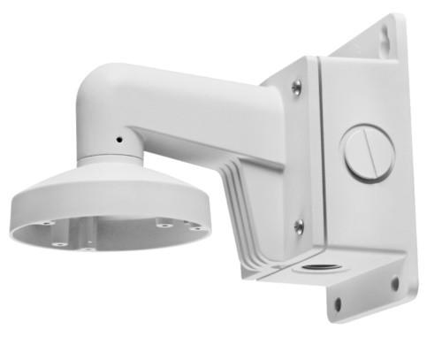 DS-1272ZJ-110B - Настенный алюминиевый кронштейн с распредкоробкой для купольных камер.