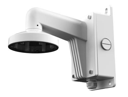DS-1273ZJ-130B - Настенный алюминиевый кронштейн с распредкоробкой для купольных камер.
