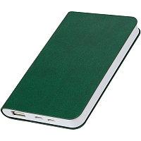 """Универсальный аккумулятор """"Softi"""" (4000mAh),зеленый, 7,5х12,1х1,1см, искусственная кожа,пл, Зеленый, -, 23100 15"""