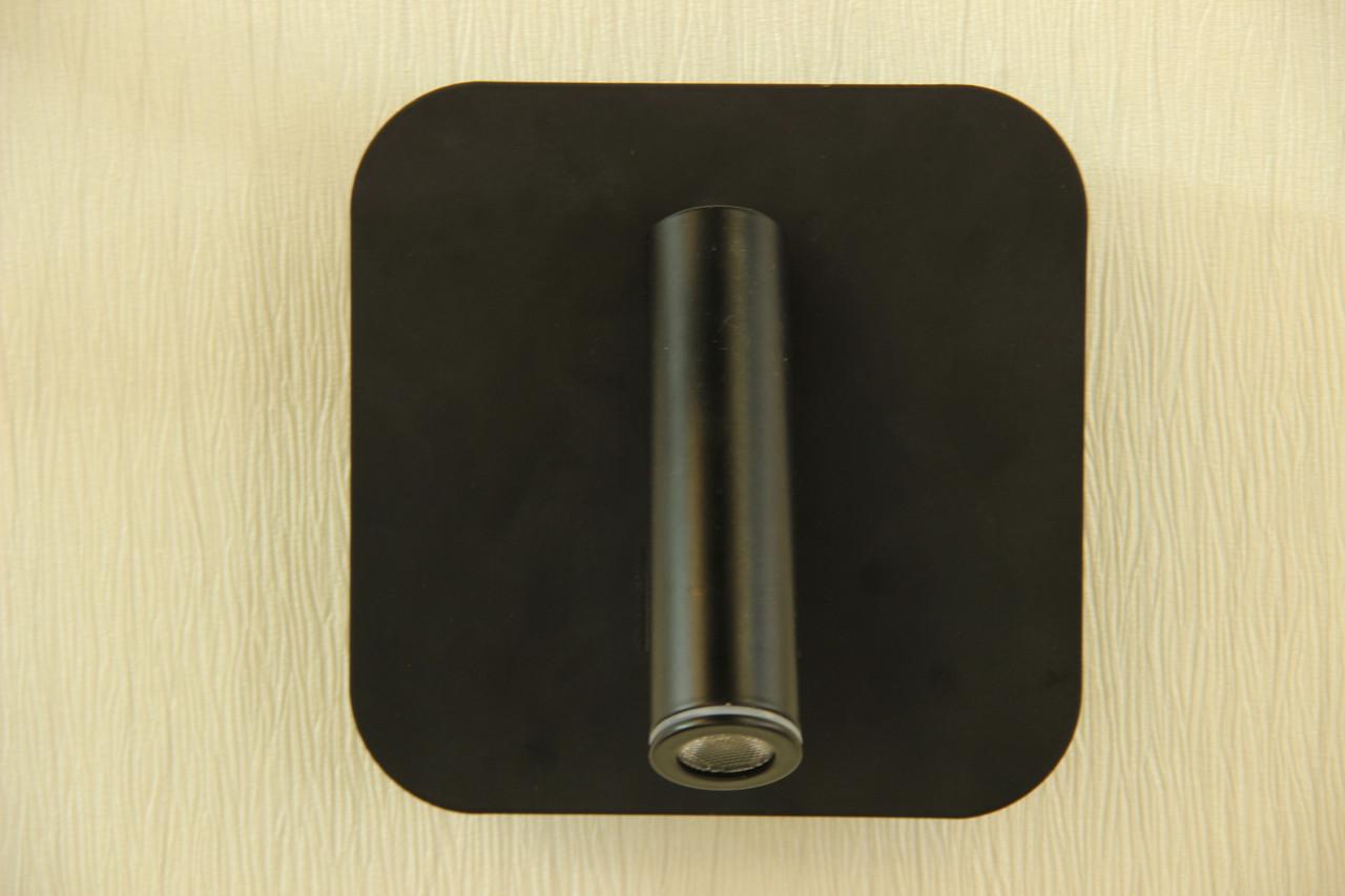 Настенный светильник  на 2 лампы LED черный в стиле современный Modern