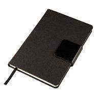 Ежедневник недатированный Stevie, А5, черный, кремовый блок, без обреза Черный - 24706 35, фото 1