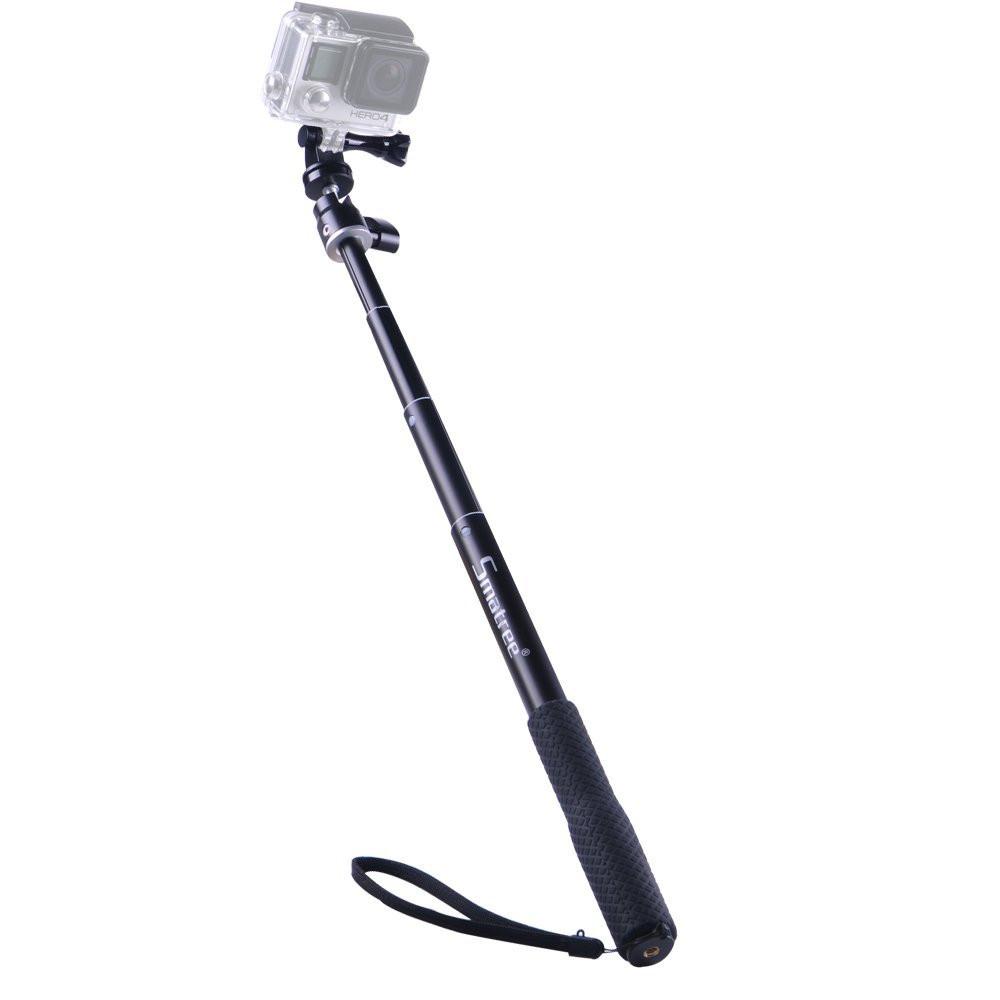 Монопод компактный Smatree® SmaPole Q1 25-95см для GoPro 5/4/3+/3/SJCAM/Xiaomi