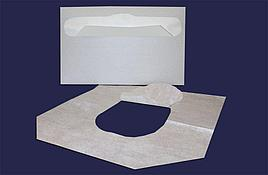 Покрытия д/унитаза 235 шт/упак бел, бумажн., 235 шт