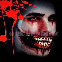 Временная татуировка на Хэллоуин в виде рта M-01