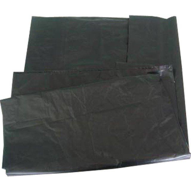 Мешок д/мусора 120л (70x110см) 55мкм черный ПВД, 50 шт