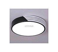Потолочная LED люстра бело-черная комбинированная