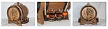 Дубовая бочка со стопками, объем 5 литров, фото 2