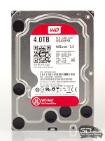 "WD Red (WD40EFRX) HDD 4Tb SATA 6Gb/s 3.5"" 64Mb 5400rpm жесткий диск"
